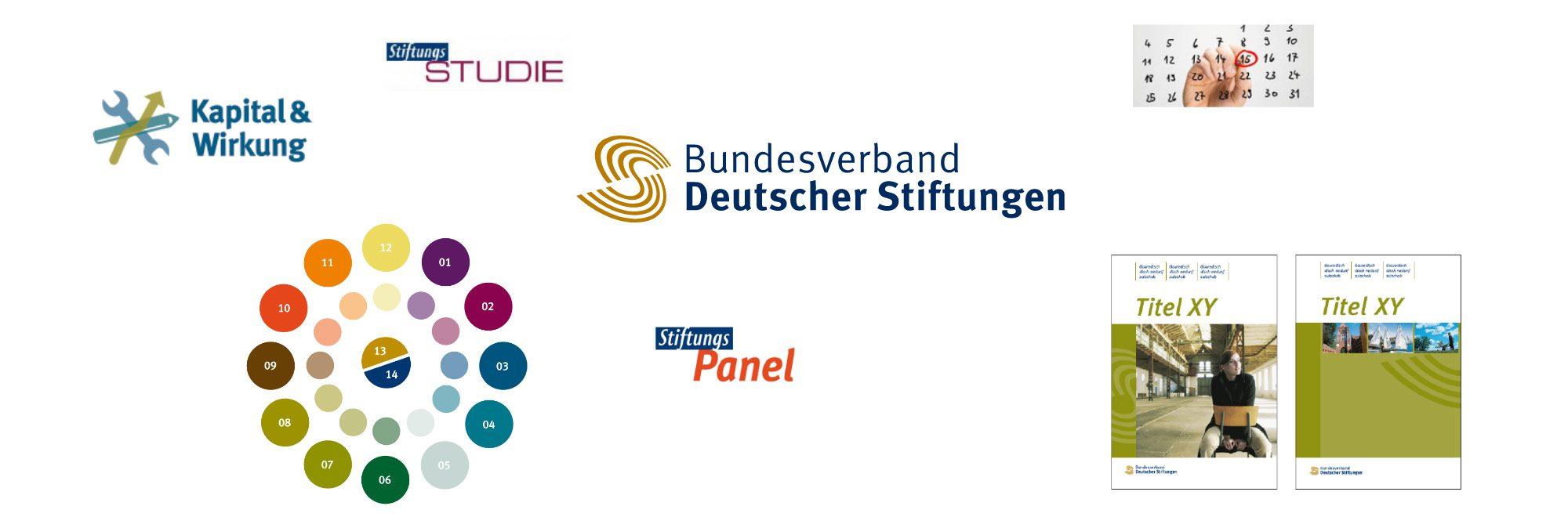 Ausgangssituation – Corporate Design für Bundesverband Deutscher Stiftungen