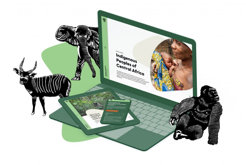 Tier-Illustrationen für die Website