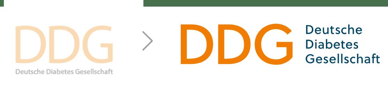 Redesign des Logos für die Deutsche Diabetes Gesellschaft