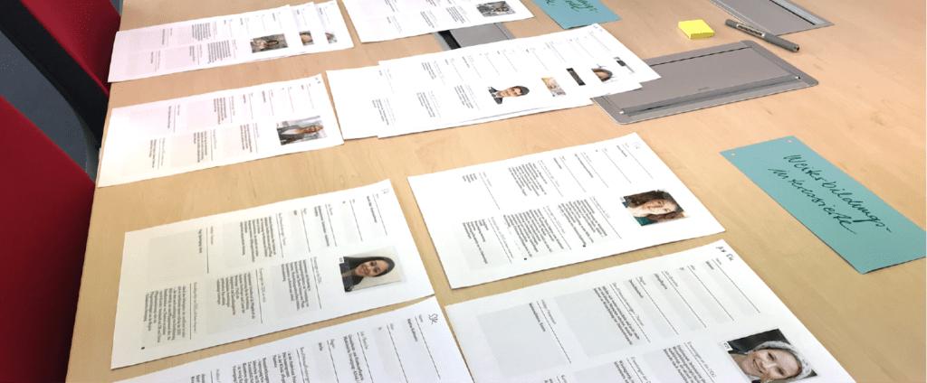 Zielgruppen Personas Designworkshop
